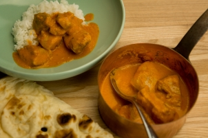 A pic of Kamilla's Butter Chicken!